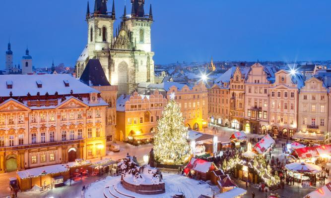 New Year in Prague 2020